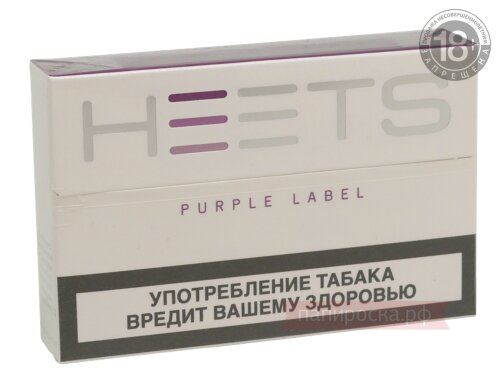 Purple label Heets - стики для IQOS - фото 2