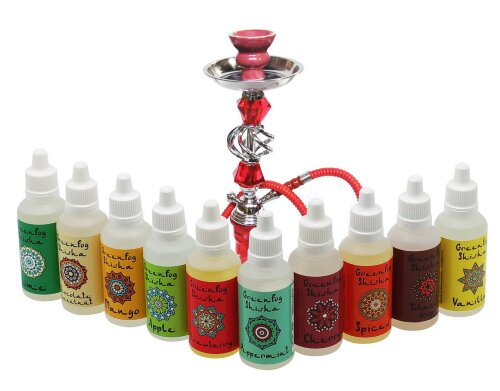 Strawberry - GreenFog Shisha - фото 4