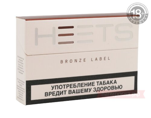 Bronze Label Heets - стики для IQOS - фото 1