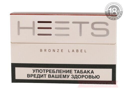 Bronze Label Heets - стики для IQOS - фото 2