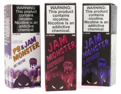 PB & Jam Grape - Jam Monster SALT - фото 3