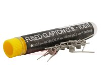 Fused Clapton - HOT COILS (0,3мм + 0,15мм, нихром) - тубус (10шт)